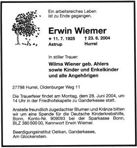 Erwin Wiemer Traueranzeige hell2