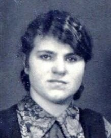 6951 C Kreis, Berta Porträt (Schwester Adele Timmermann)