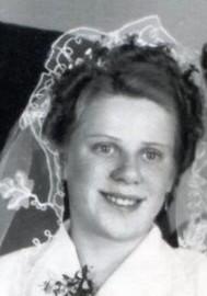 6430 NF Drieling, Gisela 1953 Hochzeit mit Helmut Hillje, links Hans und Herta Drieling