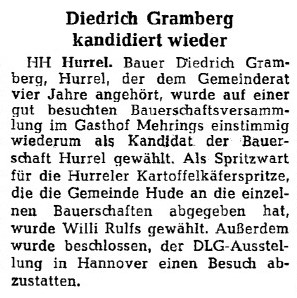 Artikel 2 NWZ vom 14. September 1956