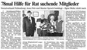 Artikel NWZ vom 11. April 2000 groß