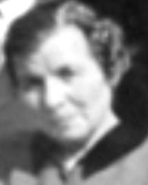 5963 s-w-2 Alma Rüdebusch auf der Konfirmation von Marlene Diers 1963