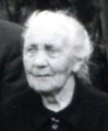 5943 Porträt LL Schütte, Marie mit Sohn Heinrich